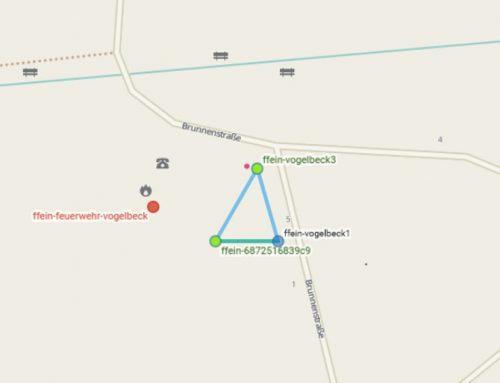 Neue Zugangspunkte: Freiwillige Feuerwehr Vogelbeck