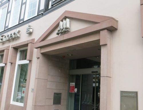 Neue Zugangspunkte: Sparkasse Einbeck Hauptstelle Marktplatz